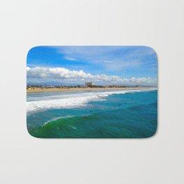 Huntington Beach Surfers Bath Mat