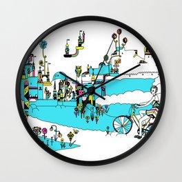 PING PONG SPRING Wall Clock