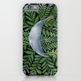 Botanical Moon iPhone Case