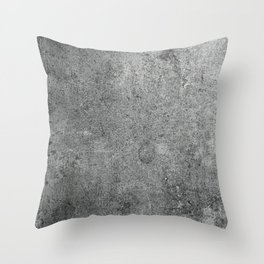 Old Leather Book Cover Lichen Throw Pillow