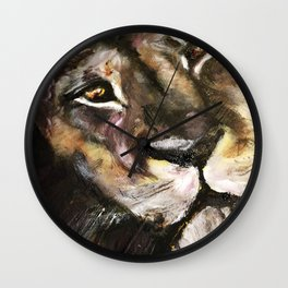 Lion's Gate: Return of the Golden Son Wall Clock