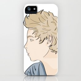 Luke - watercolor iPhone Case