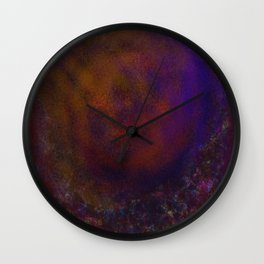 Manufactured Compound of War Wall Clock