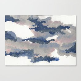 clouds_march Canvas Print