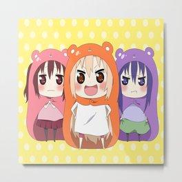 Himouto! Umaru-chan 12 Metal Print