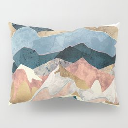 Golden Peaks Pillow Sham