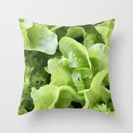 Lettuce 1 Throw Pillow