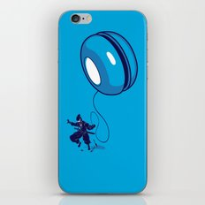 ninja yo-yo iPhone & iPod Skin