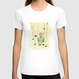 Little Prince on Swing T-shirt