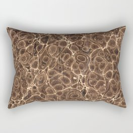 Old Marbled Paper 02 Rectangular Pillow