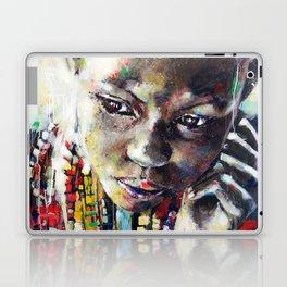 Reverie - Ethnic African portrait Laptop & iPad Skin