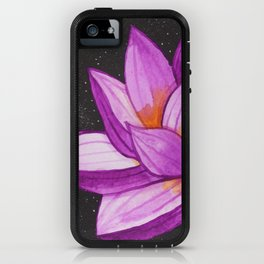 3 Moon Lotus iPhone Case