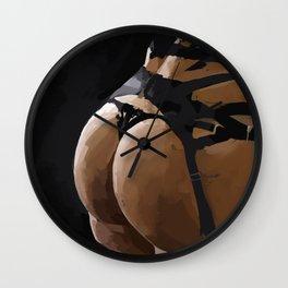 Tushie 4 Wall Clock