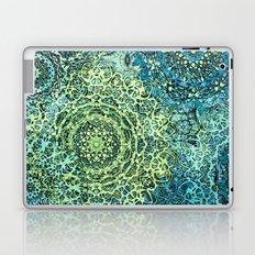 Blue Green Mandala Medallions Laptop & iPad Skin