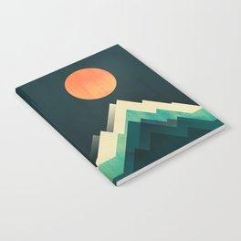 Ablaze on cold mountain Notebook