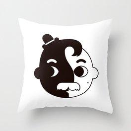 Mr Ying Throw Pillow