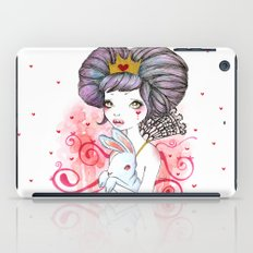 Princess with bunny iPad Case