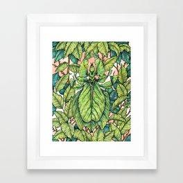 Leaf Mimic Framed Art Print
