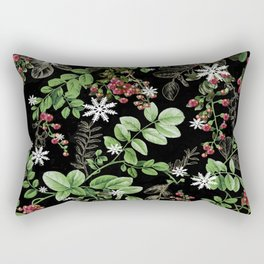 mid winter berries Rectangular Pillow