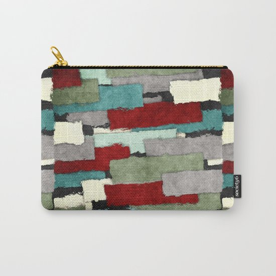 Colorful Patches Abstract Carry-All Pouch