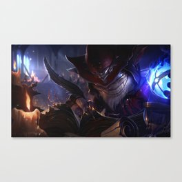 Master Arcanist Ziggs League Of Legends Canvas Print