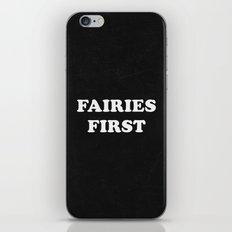 Fairies First iPhone & iPod Skin