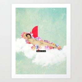 Dream of me Art Print