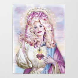Saint of Big Hair Poster
