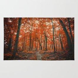 La Foresta Rossa Rug