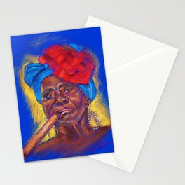 Cigar Woman Stationery Cards