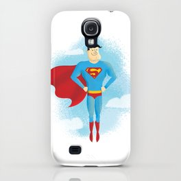 Look! Up in the sky! iPhone Case