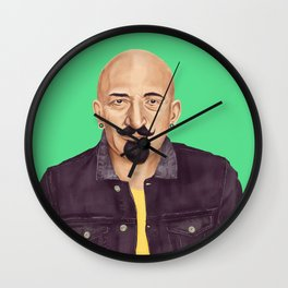 The Israeli Hipster leaders - Chaim Weizmann Wall Clock