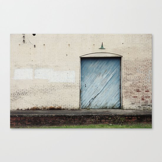 Big Blue Door Canvas Print