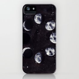 Lunar Cycle iPhone Case
