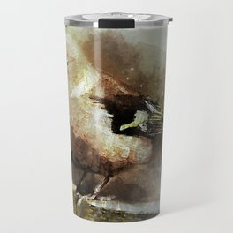 Bird Songbird Chaffinch Fringilla Travel Mug