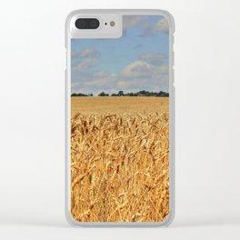 Summer Crop Clear iPhone Case