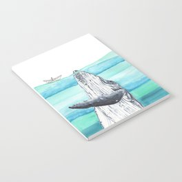 In the middle of the ocean Notebook