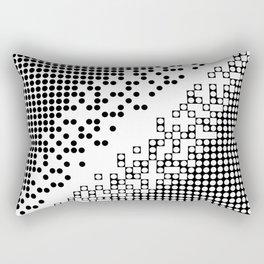 this design killed me Rectangular Pillow
