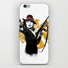 Agent Peggy Carter iPhone & iPod Skin