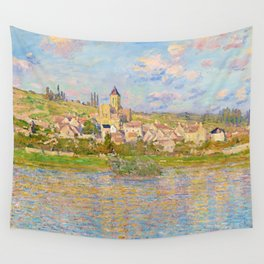 Vétheuil by Claude Monet (1879) Wall Tapestry