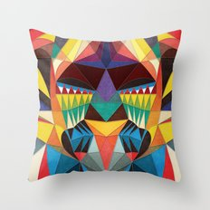 Simple To Complicated Throw Pillow