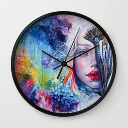 Coralized Wall Clock
