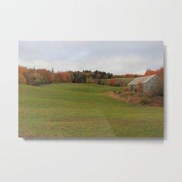 Country Autumn - Nova Scotia Landscape Metal Print