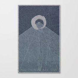 All Things Are One Canvas Print