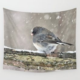 Once Upon a Snow Bird: Junco Wall Tapestry