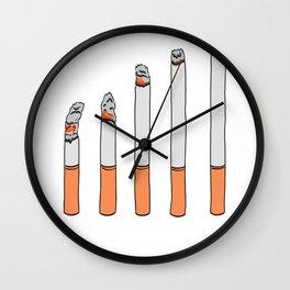 Cigarettes Wall Clock