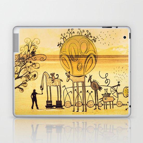 feeding imagination Laptop & iPad Skin