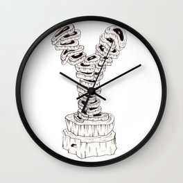 WHY Meat? Wall Clock