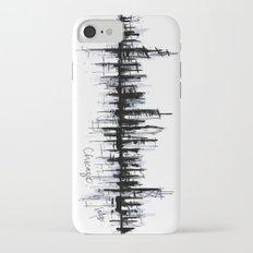Chicago Skyline Slim Case iPhone 7