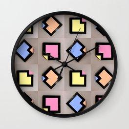 'Sweet Angles' Wall Clock